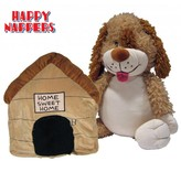 Happy Nappers Knuffelkussen Hond
