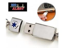 Medische Armband USB MD Alert