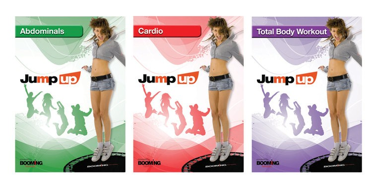 Booming Fitness Jump Up DVD-Pakket