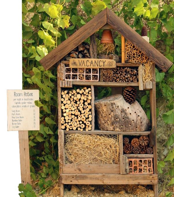 Tuindecoratie - Insectenhotel