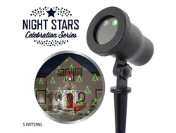 Bekend van TV Laser Light - Night Stars 5 patterns