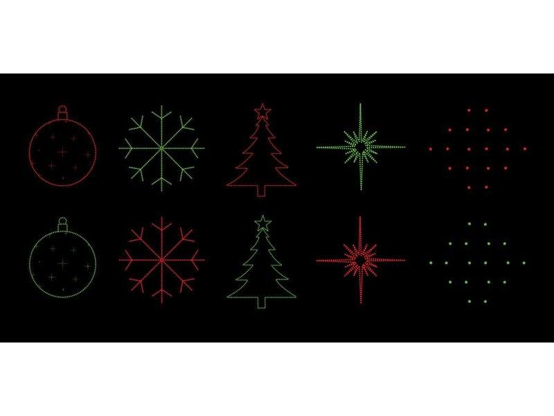Bekend van TV Laser Light - Night Stars 5 patterns