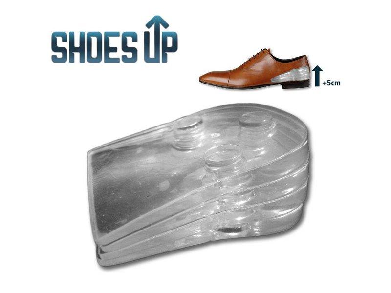 """Hakverhoging """"Shoes Up"""" tot 5cm langer in een paar seconden"""