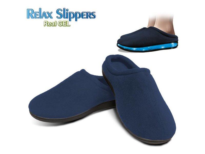 Gel Pantoffels (Blauw)