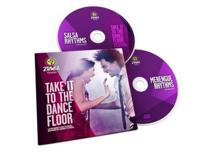 Zumba Take It To The Dance Floor 2 DVD Set