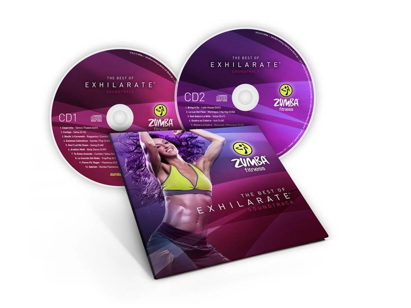 Zumba Best of Exhilarate Soundtrack CD set