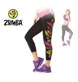 "Zumba Crop Legging ""Dancing Warrior"" - Black"