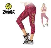 "Zumba Capri Legging ""All Day"" - Pink"