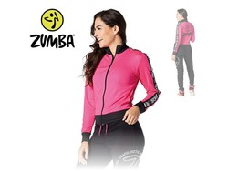 "Zumba Jacket ""When The Sun Goes Down"" - Pink"