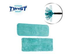 Titan Twist Mop Microvezeldoek + Stofdoek