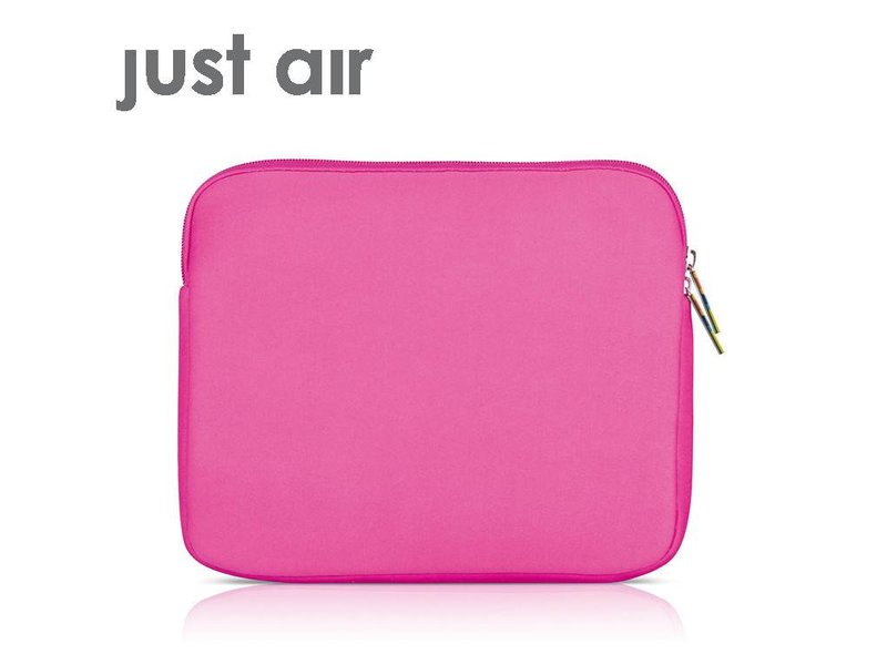 Ipad Case Just Air Neoprene Pink