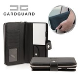 Card Guard Wallet Women - Black