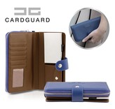 Card Guard Wallet Women - Blue