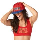 Zumba Power Snapback Hat - Red