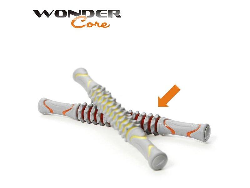 Wonder Core Massage Stick - Gray/Orange
