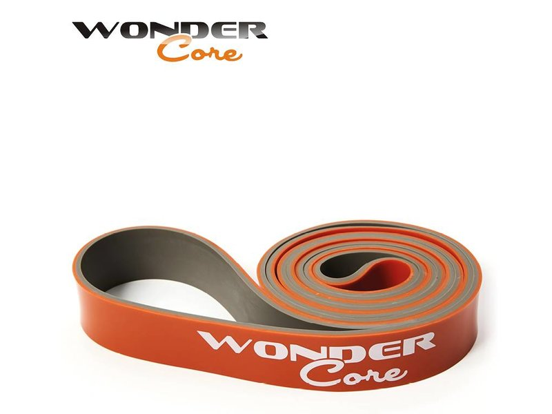 Wonder Core Pull Up Band - 3,2 cm - Orange/Gray