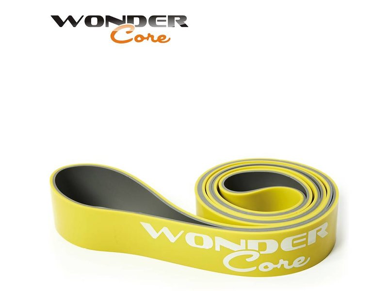 Wonder Core Pull Up Band - 4,4 cm - Green/Gray