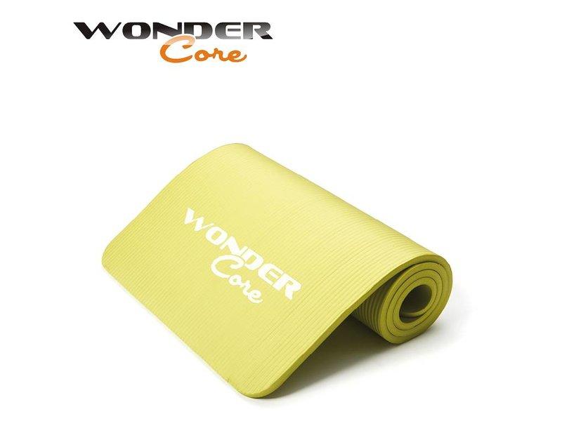 Wonder Core Yoga Mat NBR - 1 cm- Green