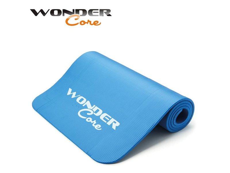 Wonder Core Yoga Mat NBR - 1,6 cm - Blue