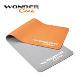 Wonder Core Yoga Mat TPE - 0,6 cm - Gray/Orange