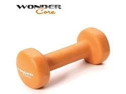 Wonder Core Neoprene Dumbbell Orange - 1 kg