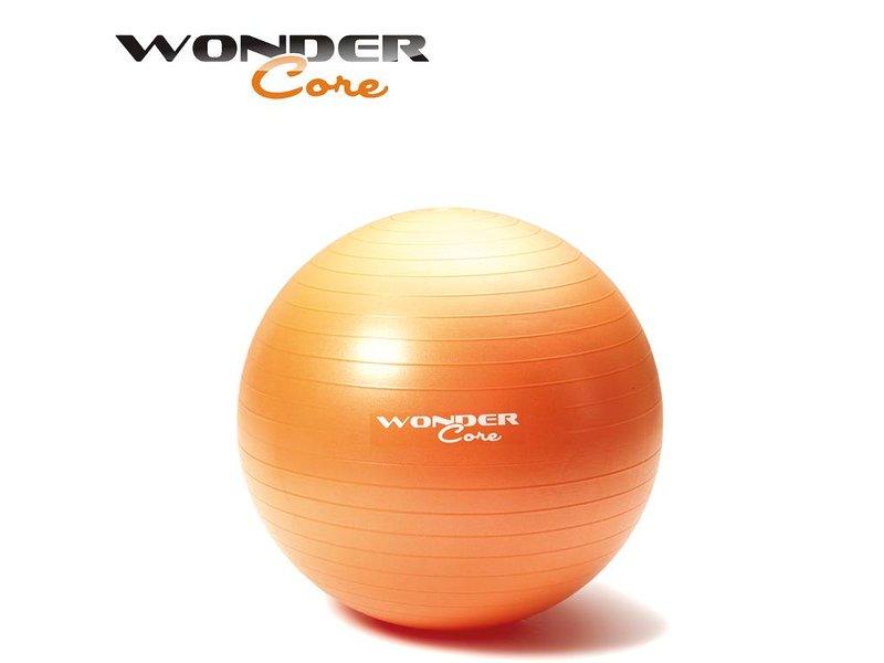 Wonder Core Anti-Burst Gym Ball - 65 cm - Orange