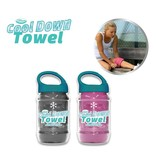 Cool Down Towel Grey + Pink