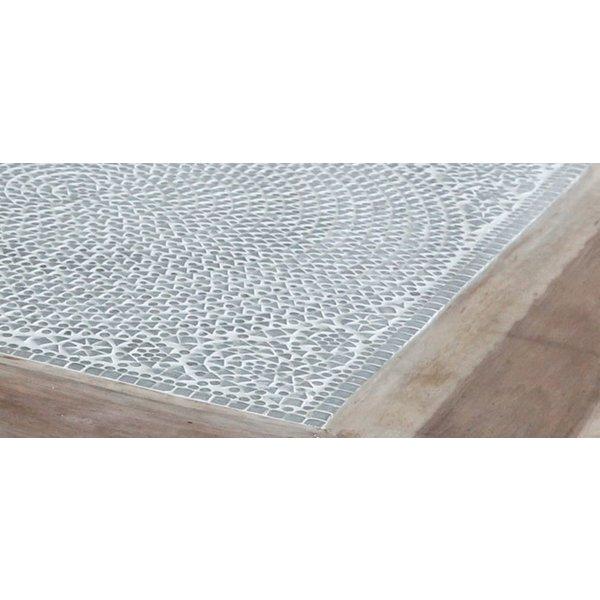 Opiumtafel transparant mozaiek