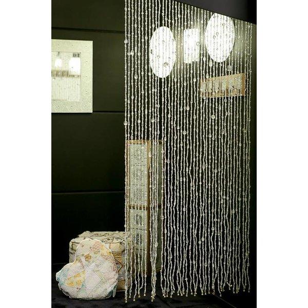 Glaskralen gordijn transparant - dePauwWonen