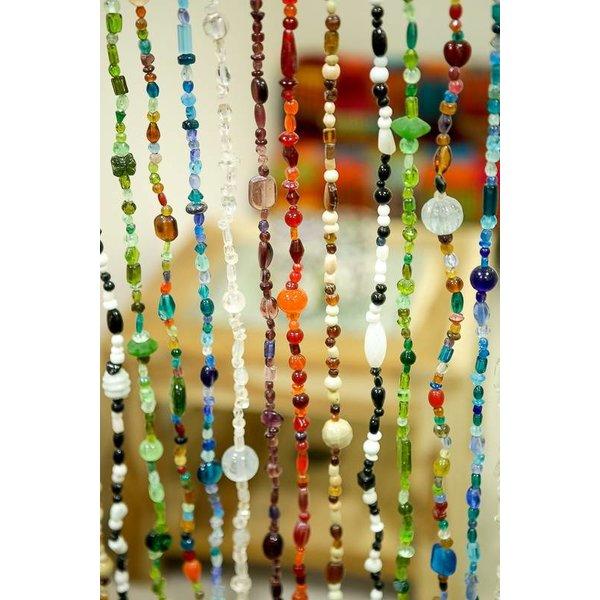 Glaskralen gordijn alle kleuren