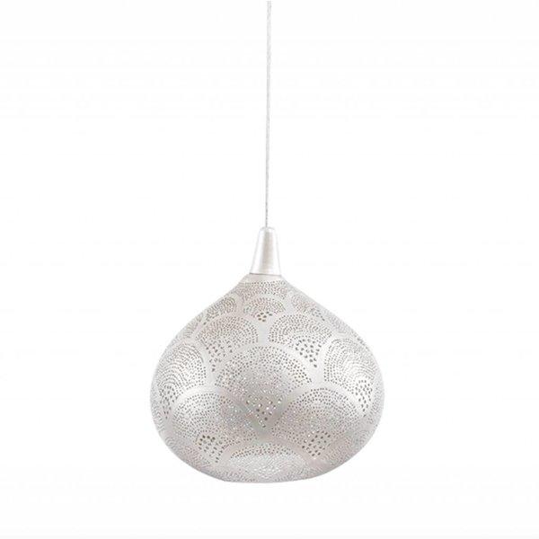Egyptische hanglamp zilver