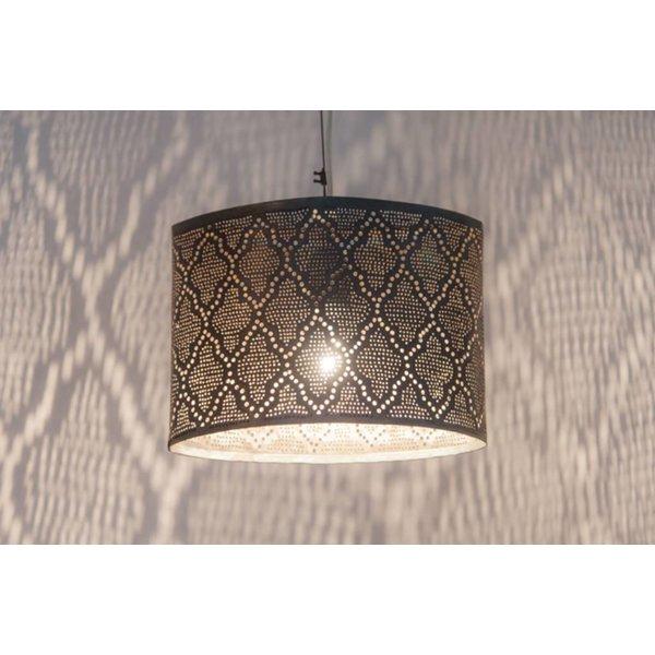 Egyptische hanglamp zwart