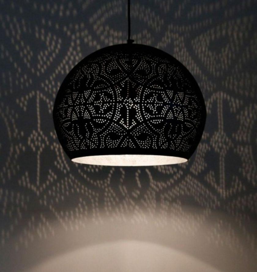 filigrain hanglamp mat zwart de pauw wonen