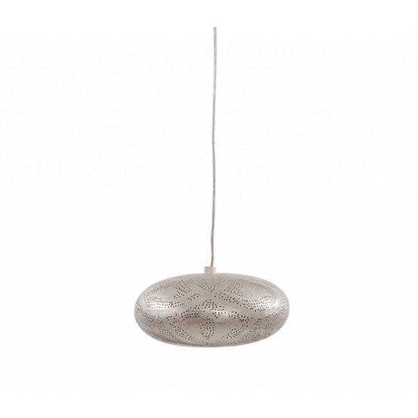 Egyptische Filigrain hanglamp zilver