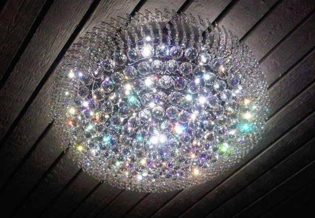 Kristallen Plafonniere : Mooie kristallen plafondlamp in maten depauwwonen