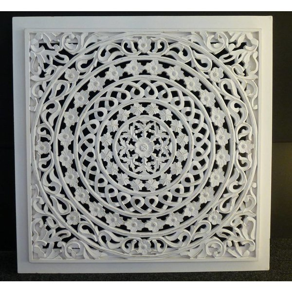 Wandpaneel Wit zonder verlichting