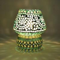Tafellamp pad groen mozaiek