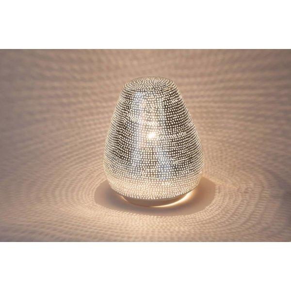 Table Lamp Tahrir Filisky Silver