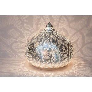 Table Lamp Filigrain Silver