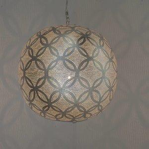 Circles Ball Silver Pendant lamp