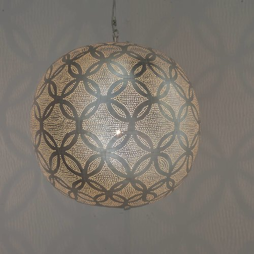 Circles Ball Silver Pendant lamp