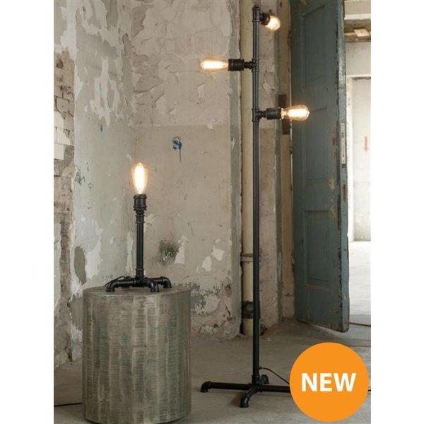 Vloerlamp 3L industrial tube