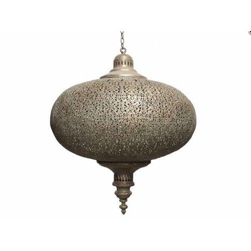 Grote filigrain hanglamp Goud kleur