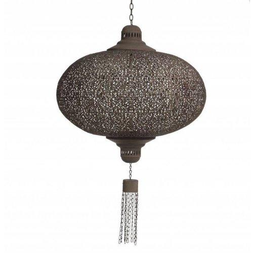 Grote filigrain hanglamp Bruine kleur