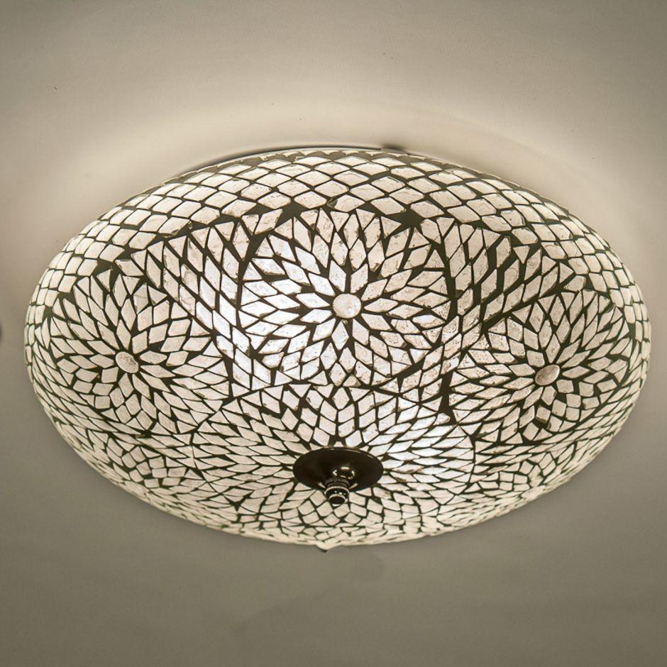 Oosterse Mozaiek Plafondlamp De Pauw Wonen