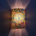Wandlamp gekleurd mozaiek