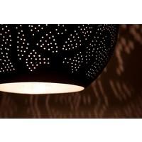 Filigrain hanglamp zwart/zilver