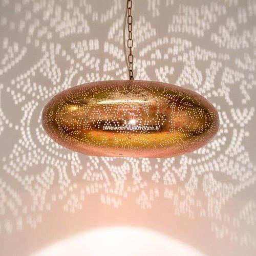 Filigrain hanglamp koper