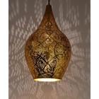 Filigrain hanglamp vaas goud/goud