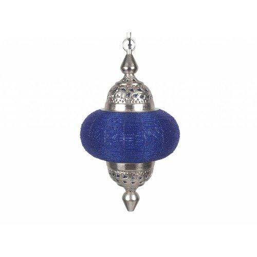 Hanglamp Casablanca klein blauw